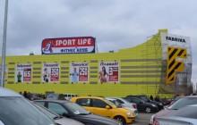 Наружные вывески фасадные и накрышные Sport Life