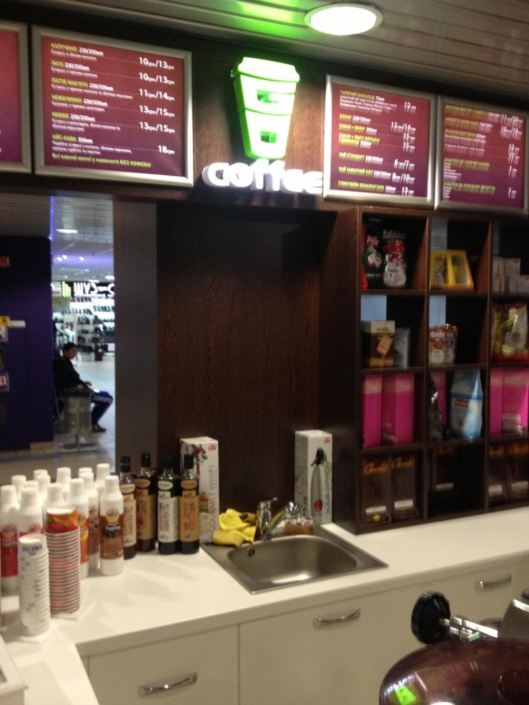 Изготовление лайтбоксов для Coffeeshop